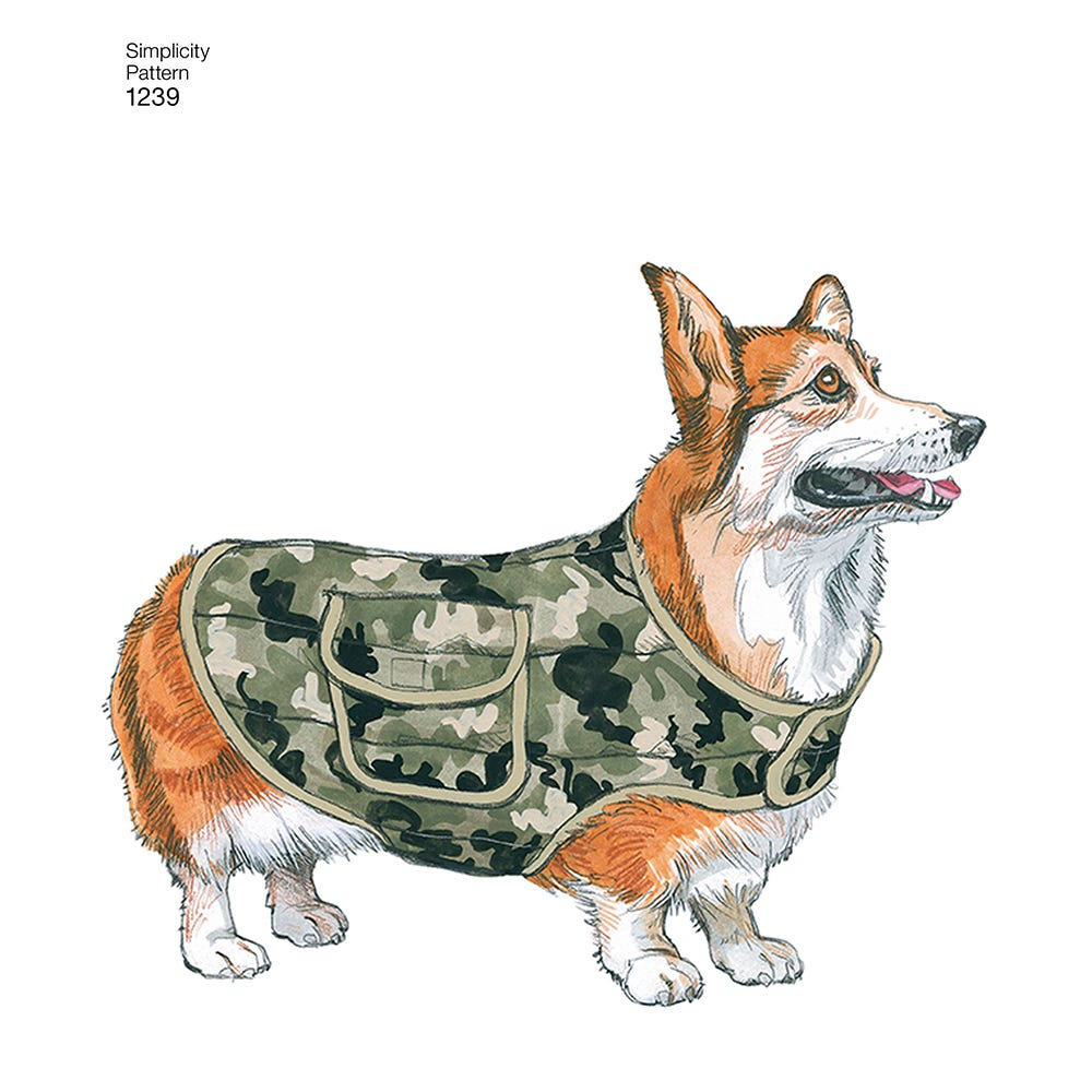 Image of Dog Coat in Three Sizes