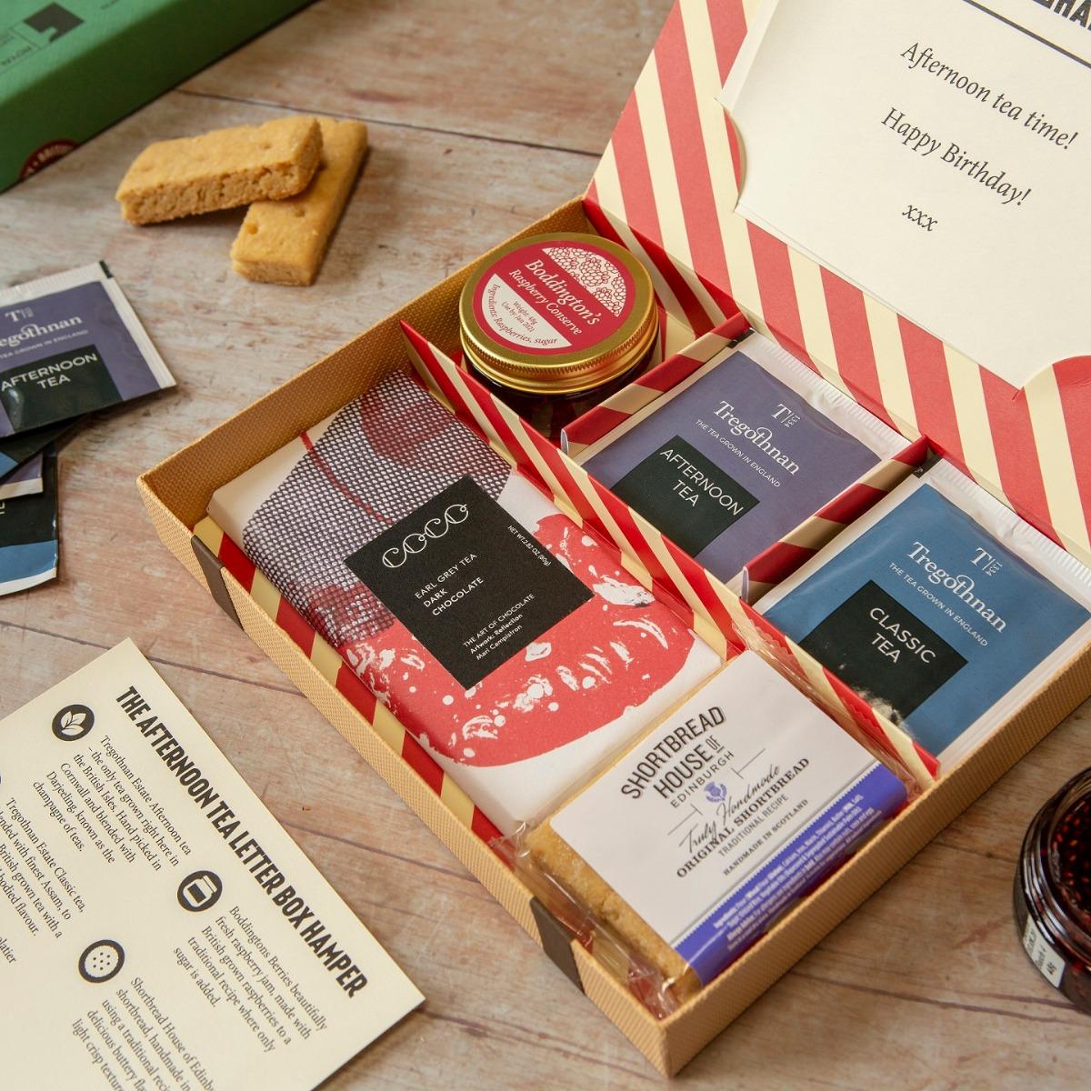 Afternoon Tea Letter Box Hamper