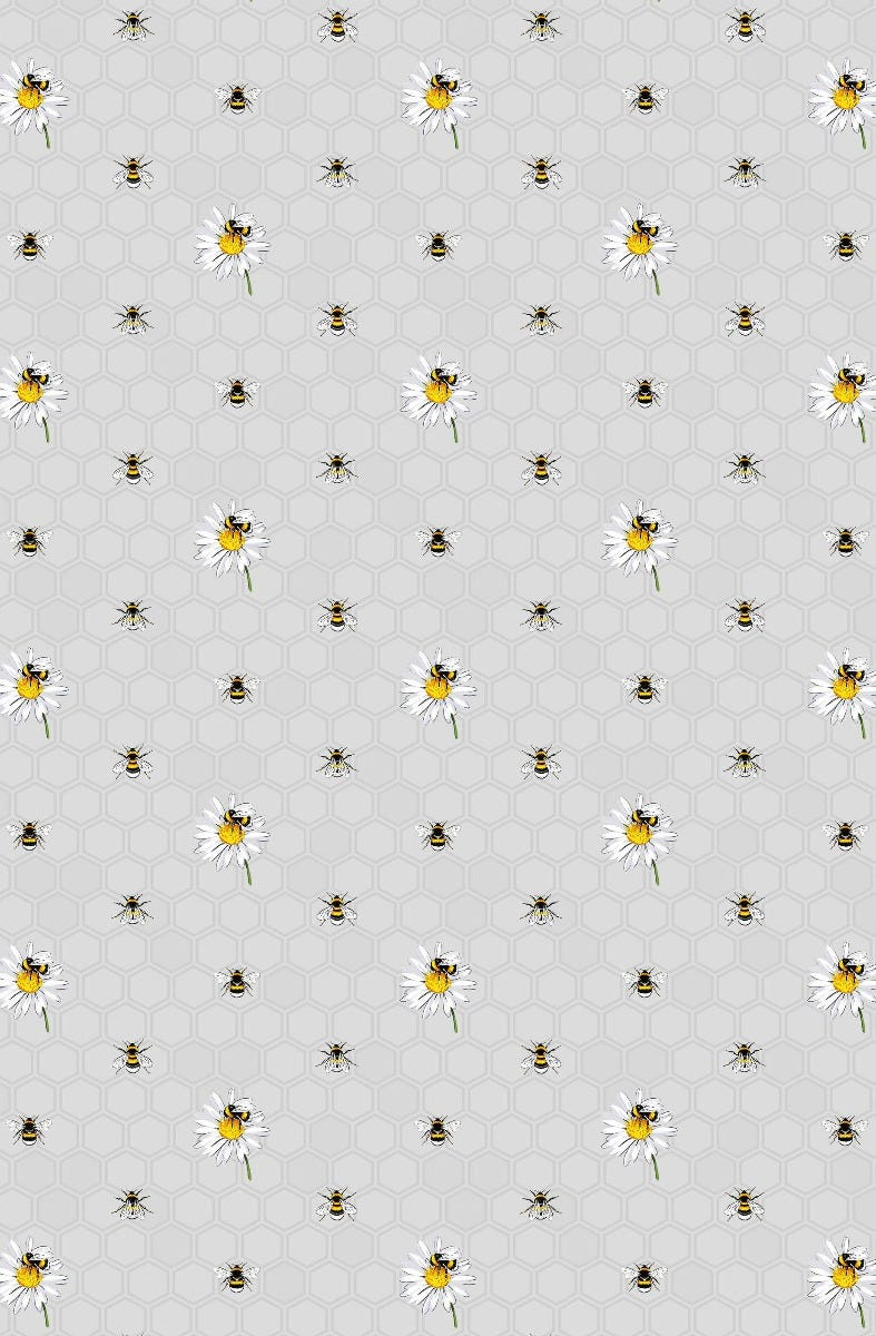 Image of Bee Happy Cotton Tea Towel