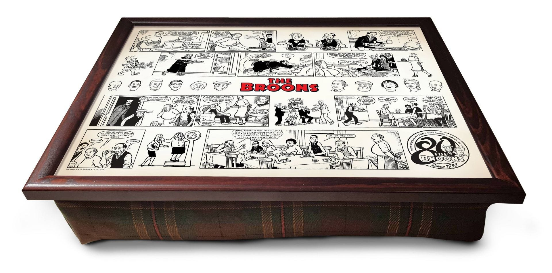 Dc Thomson Shop The Broons Comic Strip Lap Tray Dc