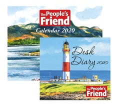 The People's Friend Diary & Calendar 2020
