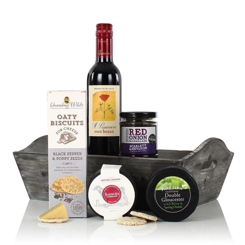 Cheese & Wine Tray