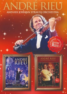 André Rieu - Christmas Around The World And Christmas I Love DVD Pack