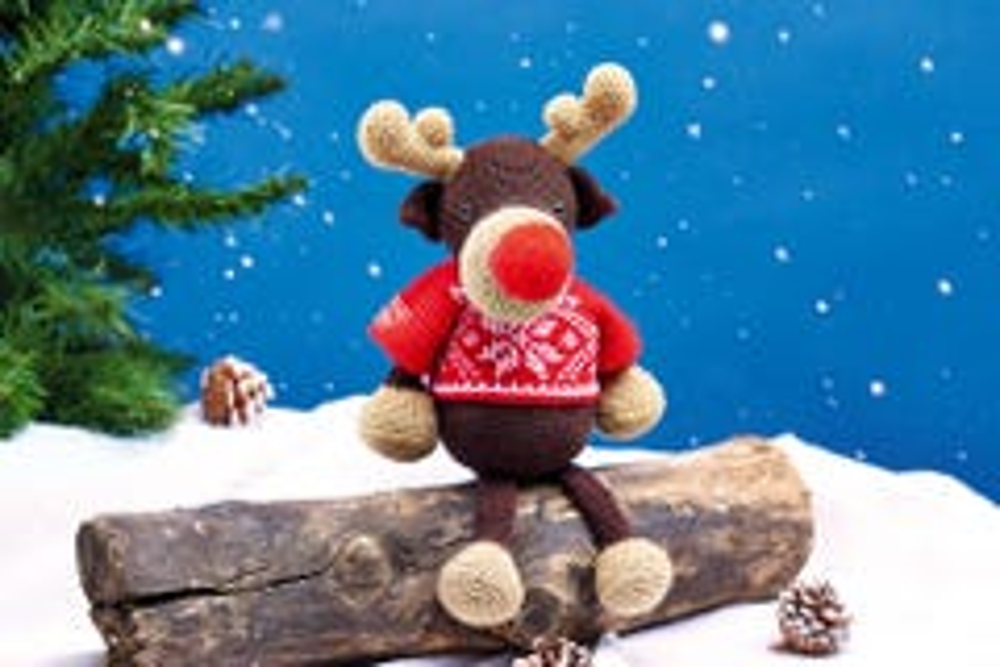 Reindeer Crochet Kit
