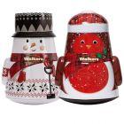 Walkers Christmas Snowman and Robin Tins