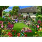 Dogs in a Cottage Jigsaw