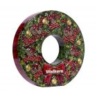 Walkers Christmas Wreath Tin