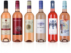 Classic Rosé Wine Selection (6 bottles)