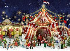 Circus at Christmas Jigsaw Puzzle