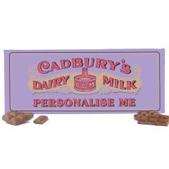 Cadbury's Dairy Milk 850g Retro Bar 1905
