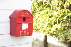 Postbox Bird House