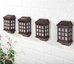 Deluxe LED Solar Lights (Pack of 4)