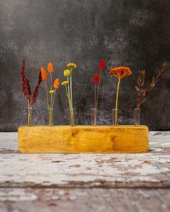 Autumnal Dried Flower Display Piece
