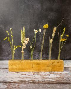 Neutral Dried Flower Display Piece