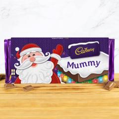 Personalised Santa Cadbury Dairy Milk 350g
