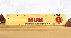 Personalised Everyday Superhero Milk Chocolate Toblerone 360g