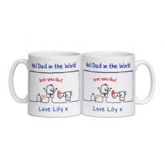 Father's Day No. 1 Dad Mug