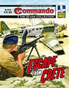 Commando 12 Issues UK