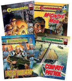 Commando Bundle 5371-5374