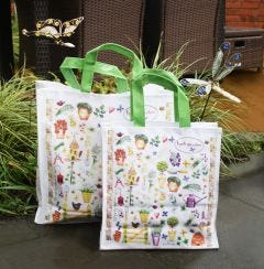 Herb Garden Medium PVC Gusset Bag