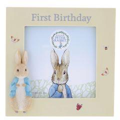 Peter Rabbit™ 1st Birthday Photo Frame