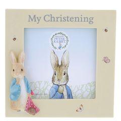Peter Rabbit™ Christening Photo Frame
