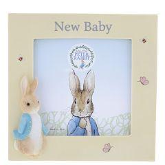 Peter Rabbit™ New Baby Photo Frame