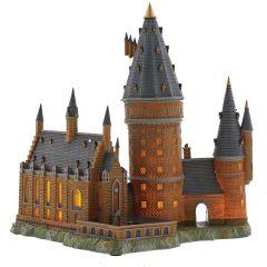 Hogwarts Great Hall and Tower (illuminated)