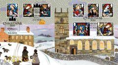 Brontë Christmas Stamps