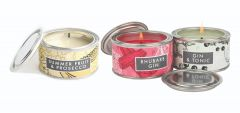 Gin & Tonic, Rhubarb Gin, Summer Fruit & Prosecco Paint Pot Candles