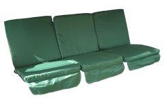 Carnival Low-Back Three-Seat Swing Cushion Set