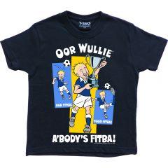 Oor Wullie A'BODY'S FITBA! T-Shirt - Children's