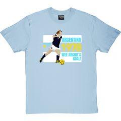 Scotland Argentina '78 T-Shirt