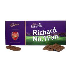 Cadbury 850g Licensed Football Bar - Arsenal