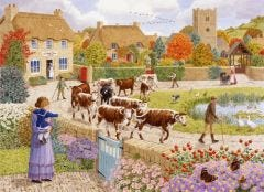 Autumn Village Jigsaw