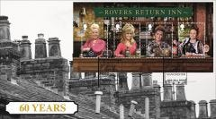 Rovers Return Special Stamps  Miniature Sheet B641M