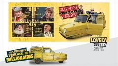 Only Fools & Horses New Miniature Sheet Cover