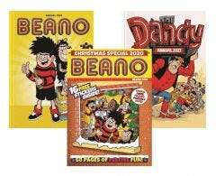 Beano Double Trouble & Christmas Special Pack