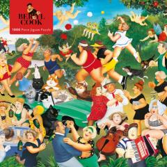 Beryl Cook : Good Times – 1000 piece puzzle