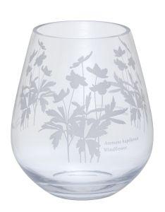 Bloom Wide Vase Windflower