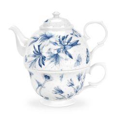 Botanic Blue Boxed Cup