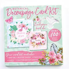 Botanical Decoupage Card Kit