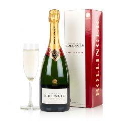 Bottle of Bollinger