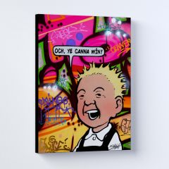 Oor Wullie Ye Canna Win Sleek Prints and Canvases