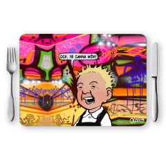 Oor Wullie Ye Canna Win Placemat
