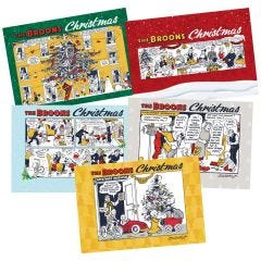 The Broons Christmas Cards