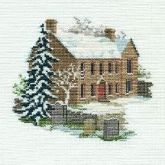Bronte Parsonage Counted Cross Stitch Kit