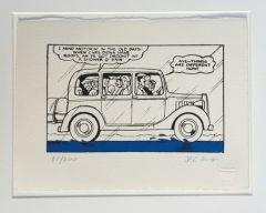 The Broons Go on a Car Ride Screenprint