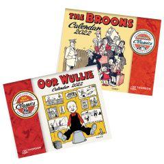 The Broons & Oor Wullie Calendars