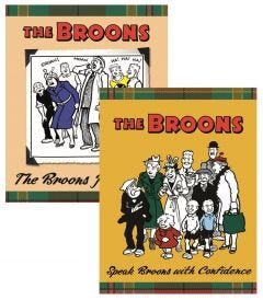 The Broons Joke Book & Speak Broons with Confidence